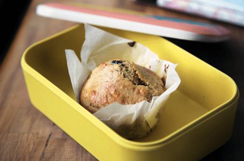 muffins à la peau de banane Save Eat