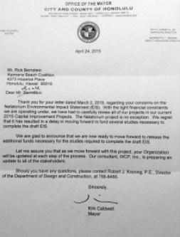 EIS Status Letter 4-24-2015