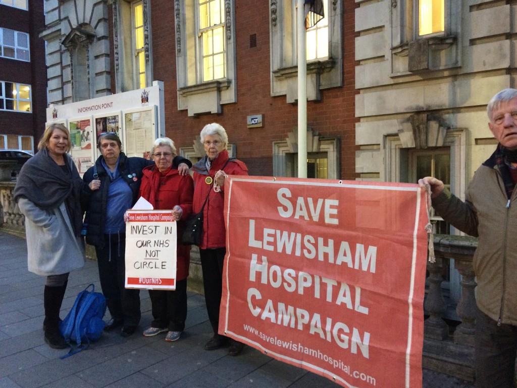 Circle contract – Save Lewisham Hospital campaign