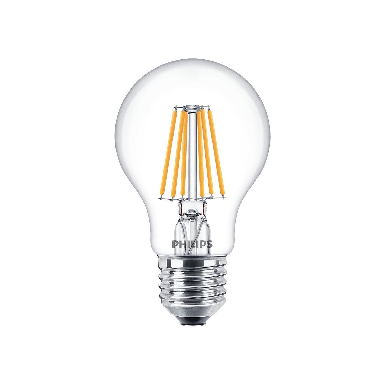 Philips Led Filament Bulb Dimtone Clear A60 E27 5 5w