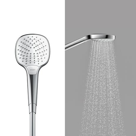 Hansgrohe Croma Select E Vario Ecosmart Hand Shower 9lpm