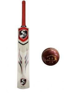 SG Max Cover Kashmir Willow Cricket Bat Speed Up Cricket Leather Ball Rs 570 AllSchoolStuff