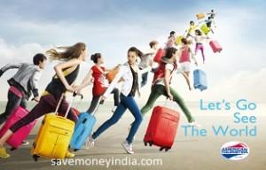 American Tourister minimum 50% off from Rs. 589 – FlipKart image