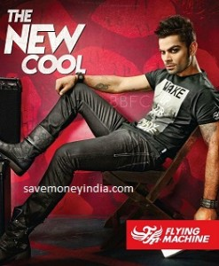 Flying Machine Clothing 50% off or more from Rs. 192 – Amazon image