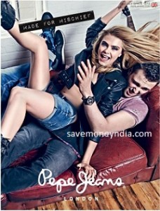 Pepe Jeans Clothing 50% off or more from Rs. 239 – Amazon image