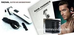 Nova Personal Care Appliances minimum 30% off from Rs. 299 – FlipKart image