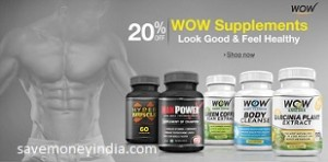 WOW Health & Beauty 25% off or more from Rs. 299 – Amazon image