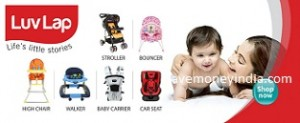 Luv Lap Baby Products 25% off or more from Rs. 214 – Amazon image