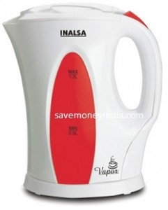 Inalsa Vapor 1.2L Electric Kettle Rs. 599 – FlipKart image