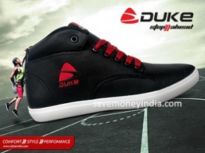 Duke Men's Footwear 50% off or more from Rs. 250 – Amazon image