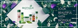 Biotique Beauty Products 25% off or more from Rs. 89 – Amazon image