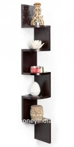 Solimo Zig-Zag Corner Wall Shelf Rs. 749 – Amazon image