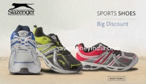 Slazenger Sports Shoes minimum 73% off from Rs. 399 – FlipKart image