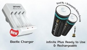 Envie Batteries & Chargers 20% off or more Rs. 184 – Amazon image