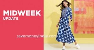 Women's Clothing & Footwear minimum 80% off from Rs. 138 – FlipKart image