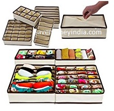 Paffy Home Storage Boxes & Organizers upto 50% off from Rs. 399 – Amazon image