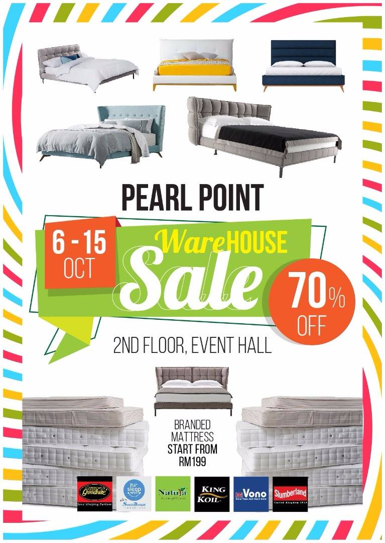 pearl point event hall bed and mattress warehouse sale