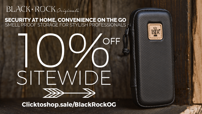 Black Rock Originals - Coupon Codes - Discounts - Promo - Cannabis Storage - Marijuana Cases - Vape - Pipe - Smoking Accessories - Save On Cannabis