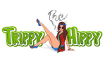 The Trippy Hippy Discount Coupon Promo Certificate Logo
