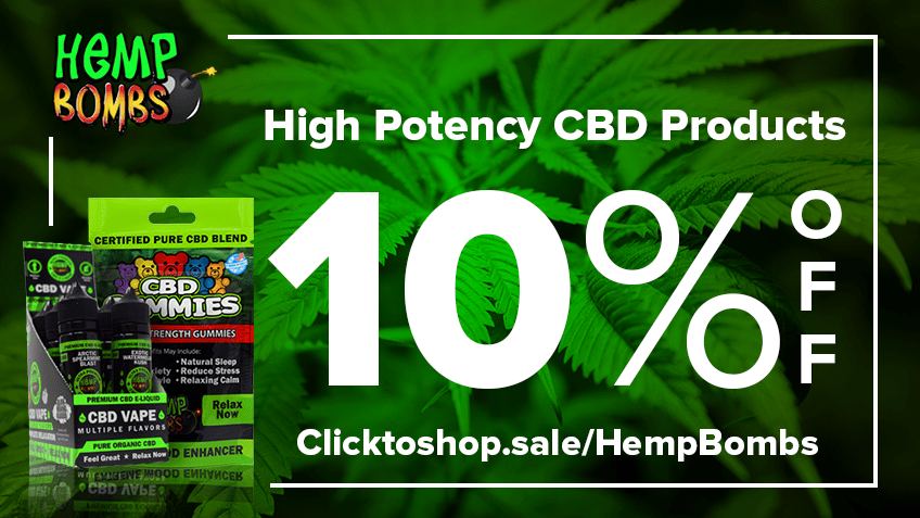 Hemp Bombs Discount Promo Online Save On Website