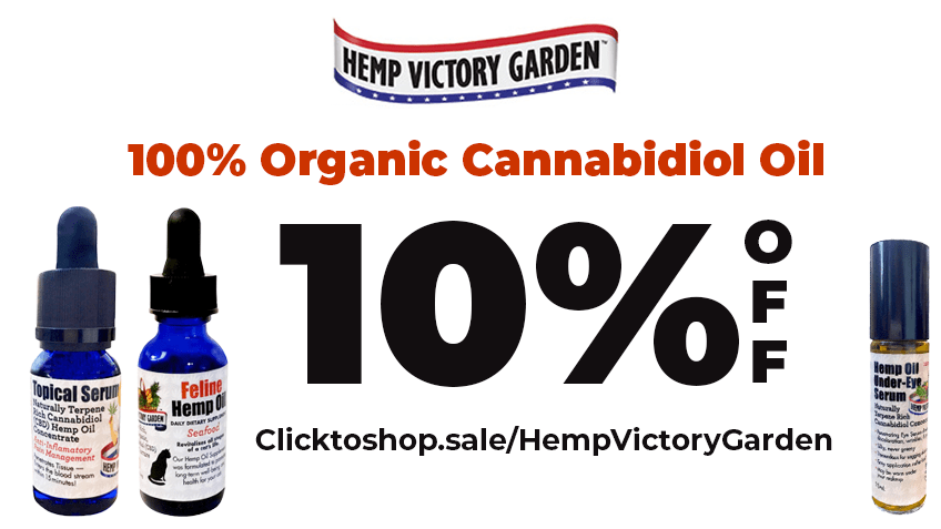 Hemp Victory Garden Coupon Code - Online Discount - Save On Cannabis