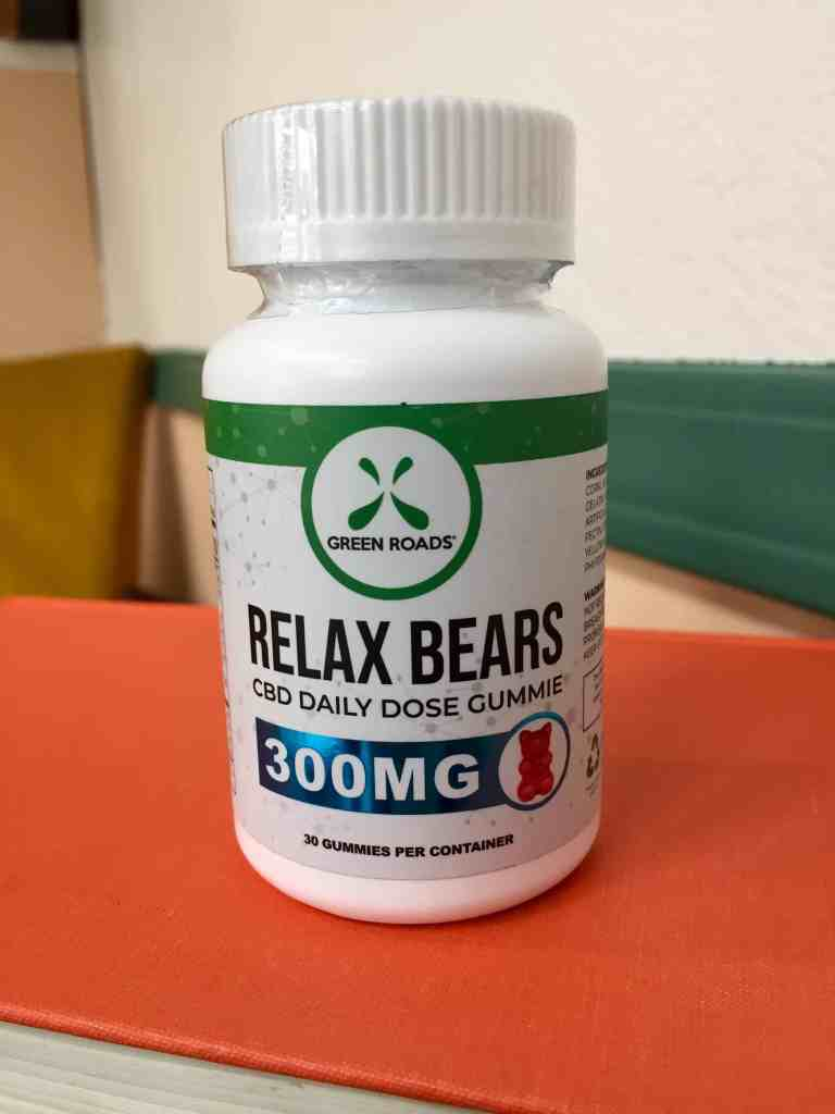 Green Roads Review - Relax CBD Gummy Bears - Save On Cannabis - Beauty Shot