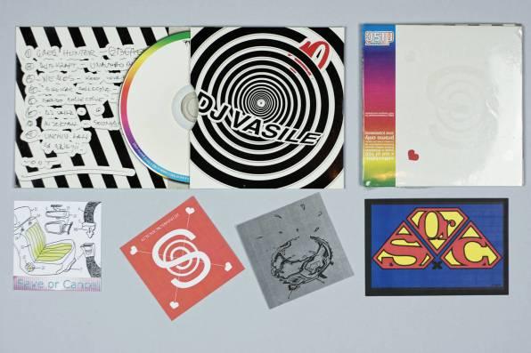 save or cancel CD mix 3 dj vasile cd cover inside
