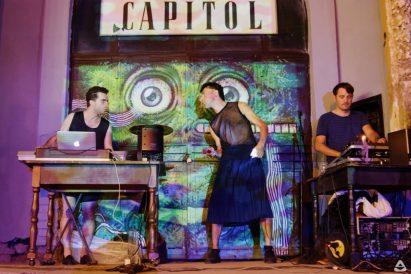 #Fluid & Aural Eye 20 Aug 2016 CAPITOL Cinema/ Summer Theatre