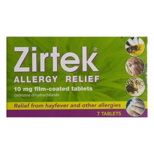 Zirtek Allergy Relief 7s