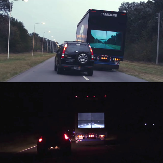 Samsung Safety Truck, Truk Dengan Kamera Live View Yang Peduli Keselamatan Berlalu Lintas