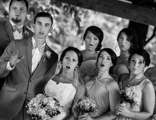 foto wedding unik