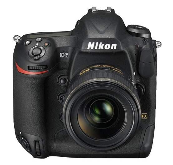 tampak depan Nikon D5