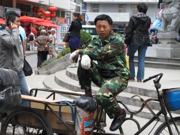 Beijing-China-Photograph-Collecting-Bicycle-Recycling