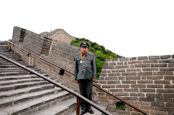 Beijing-China-Photograph-Great-Wall-of-China-Police-Officer-Uniform