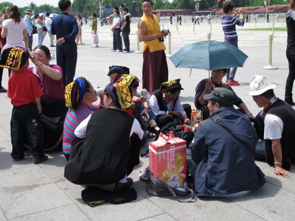 Beijing-China-Photograph-National-Costume-Tourists