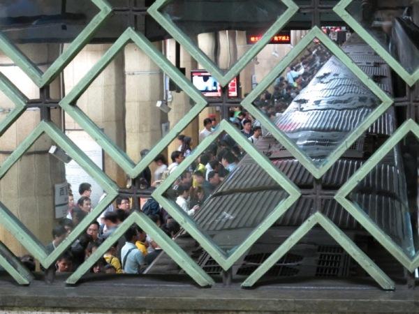 Beijing-China-Transportation-Photograph-Metro-People