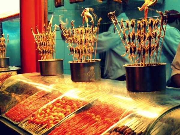 Beijing-Photograph-China-Street-Night-Market-Insects