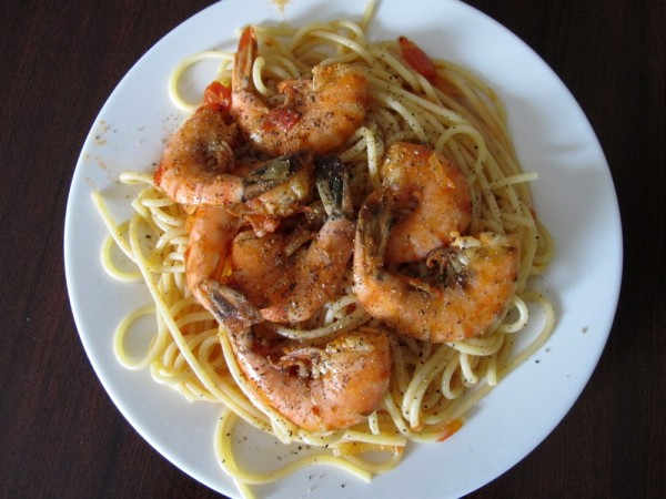 Cooking-Recipe-Food-Shrimp-Pasta