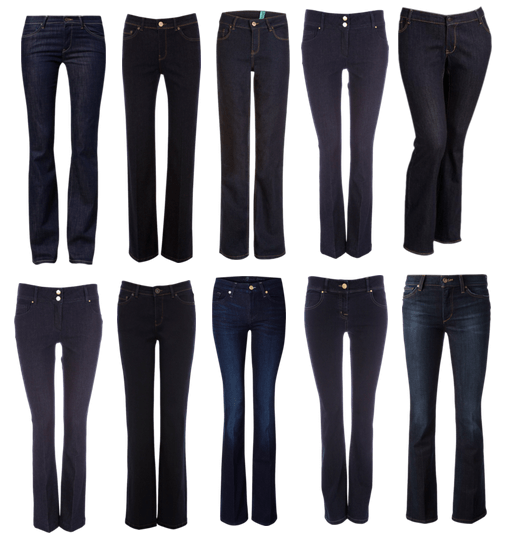 Dark-Rinse-Boot-Cut-Jeans