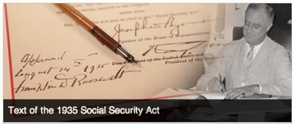 Franklin-D-Roosevelt-Social-Security-Act-1935