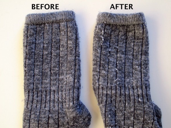 How-to-remove-fuzz-pilling-sweater-socks-wool-shaving-razor_BEFORE-AFTER