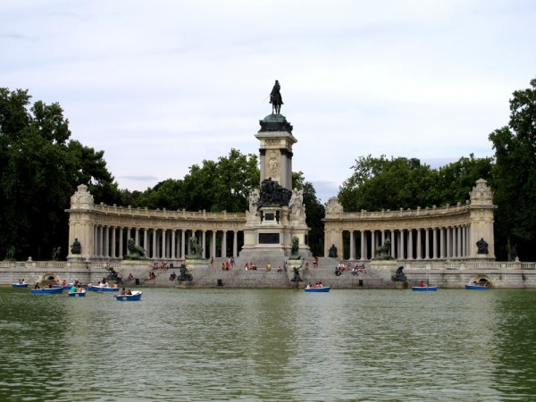 Madrid-Spain-Europe-Lake-Travel-Photograph