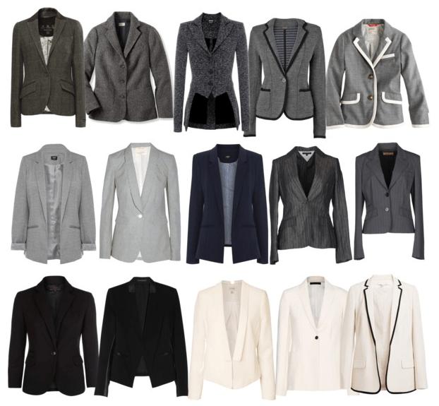 Minimalist-Practical-Functional-Wardrobe-Blazers