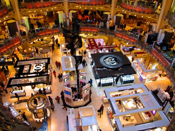 Paris-France-Rich-Shopping-Brand-Names-Travel-Photograph