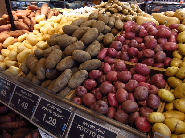 Photograph-Grocery-Food-Eating-Shopping-Fruit-Vegetables-Potatoes
