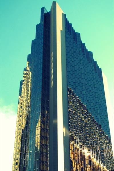 Photograph-Travel-Toronto-Ontario-Canada-Building-Gold-Downtown-Core