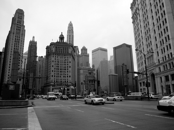 Photograph-USA-Illinois-Chicago-Downtown