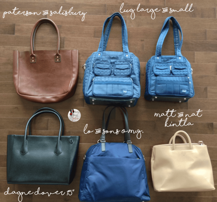 save-spend-splurge_totes-bags-comparison-dagne-dover-lug-lo-and-sons-matt-and-nat-kintla-leather-tote-review-names