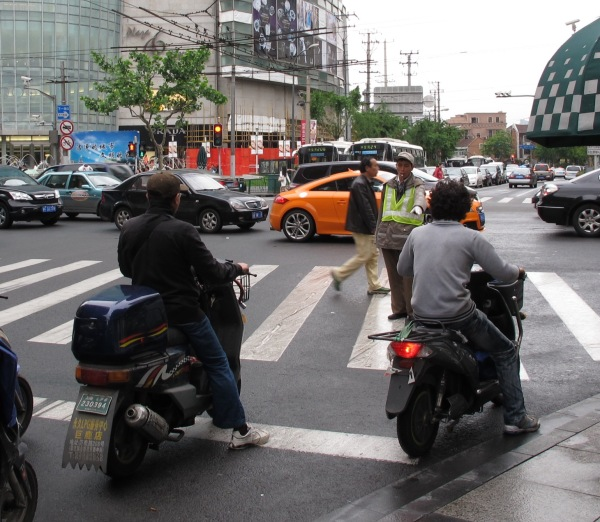 Shanghai-China-Photograph-Pointing-to-Stop-Someone