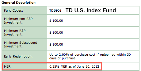TD-Mutual-Funds-E-Series-Low-MERs-US-Index-Fund